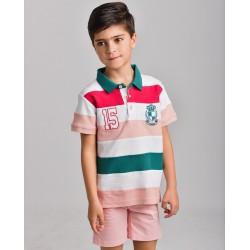 LOV-1021110303 La Ormiga ropa infnatil al por mayor Polo niño