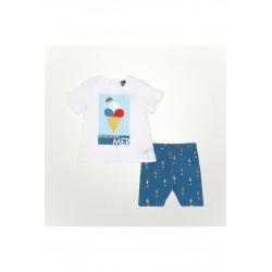 Conjunto corto bebe niña-SMV-21103-Street Monkey