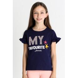 Camiseta manga corta niña-SMV-21332-Street Monkey