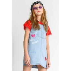 Camiseta manga corta niña-SMV-21340-Street Monkey