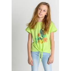 Camiseta manga corta niña-SMV-21364-Street Monkey