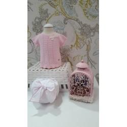 Conjunto braga y niki rosa-LOV-1077400701-La Ormiga