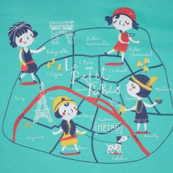 Camiseta manga corta bebe niña-SMV-21162-Street Monkey