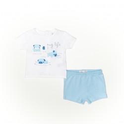 Conjunto corto bebe niño camiseta y pantalon-SMV-21401-Street Monkey