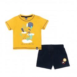 Conjunto corto bebe niño-SMV-21005-Street Monkey