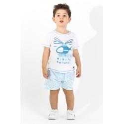 Conjunto corto bebe niño-SMV-21012-Street Monkey