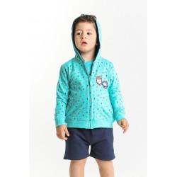 Sudadera con capucha bebe niño-SMV-21027-Street Monkey