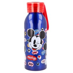 Botella aluminio con colgador de silicona bela 510 ml it´s a mickey thing-STV-50124-Stor