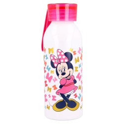Botella aluminio con colgador de silicona bela 510 ml minnie so edgy bows-STV-51124-Stor