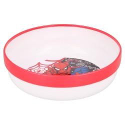 Cuenco antideslizante premium bicolor spiderman urban web-STV-51391-Stor