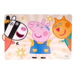 Mantel individual peppa pig kindness counts-STV-41219-Stor