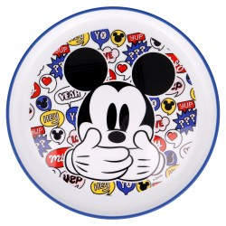 Plato antideslizante premium bicolor it´s a mickey thing-STV-50192-Stor