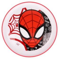 Plato antideslizante premium bicolor spiderman urban web-STV-51392-Stor