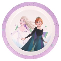 Plato gold con orla frozen ii the snow queen-STV-60471-Stor