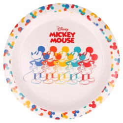 Plato gold con orla mickey mouse true original-STV-60141-Stor