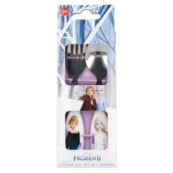 Set 2 pcs cubiertos metalicos frozen ii the snow queen-STV-60418-Stor