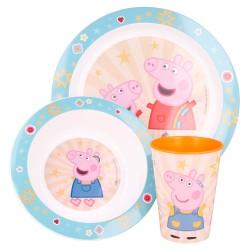 Set micro 3 pcs peppa pig kindness counts-STV-41249-Stor