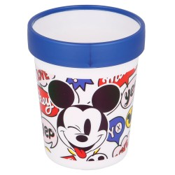 Vaso antideslizante premium bicolor 260 ml it´s a mickey thing-STV-50195-Stor