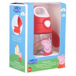 Vaso entrenamiento pop up tritan 370 ml peppa pig little one-STV-13489-Stor