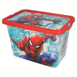 Caja click 7 l. spiderman comic book-STV-2624-Stor