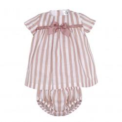 Vestido desmangado con cubre pañal-MN8018-Minhon