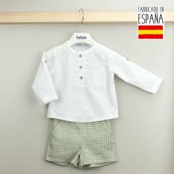 mayoristas ropa de bebe BDV-43573-G tumodakids