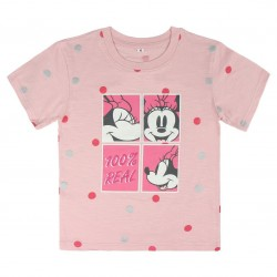 Camiseta corta single jersey minnie - CV-2200003719 - MINNIE