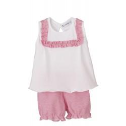 Pijama manga corta niña cometa-CLV-35138-Calamaro Baby