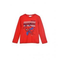 Camiseta manga larga 100% algodón spiderman-SCV-UE1117-SPIDERMAN