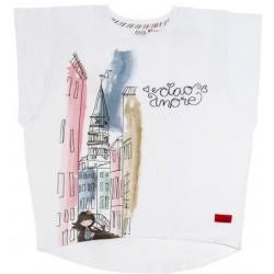 Camiseta corta niña Anekke