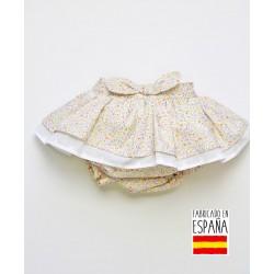 Falda con cubrepañal estampado floral-PPV-24257-Popys