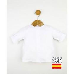 Camisa manga larga cuello mao-PPV-24303-Popys