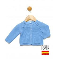 Chaqueta de punto bebé con bolsillos-PPV-24318-Popys
