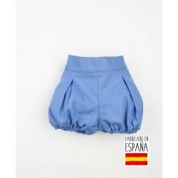 Pantalón corto bebé liso piqué-PPV-24328-Popys