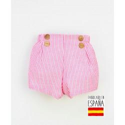 Pantalón corto bebé estampado rayas-PPV-24331-Popys