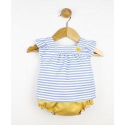 Conjunto corto bebé 2 piezas algodón-PPV-24406-Popys