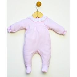 Pijama tipo pelele algodón cuello volante.-PPV-24464-Popys