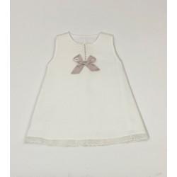Vestido piqué topos-PBV-2523-Primbaby