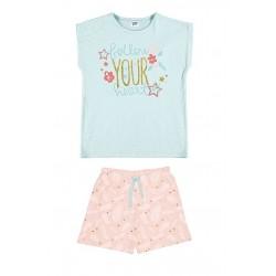 """Pijama niña m/c-p/c """"ballon your heart""""-TAV-21137053-TOBOGAN"""
