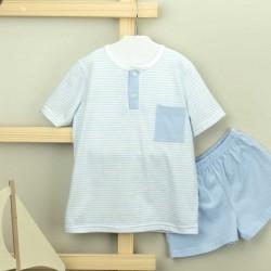 Pijama niño tapeta whale - Babidú - BDV-72288