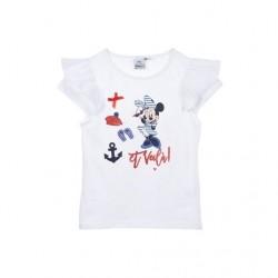 Camiseta manga corta 100% algodón Minnie-UE1100-MINNIE