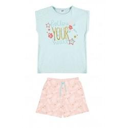 Pijama corto niña ballon your heart-ALM-21137053-Tobogan