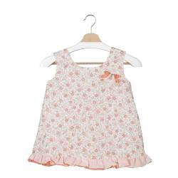 Vestido bebé estampado floral Rea-Calamaro Baby