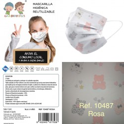 Mascarilla infantil talla 3-9-GBI-10487/8/9-Gamberritos
