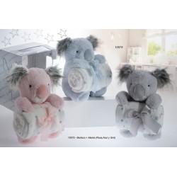 Muñeco + manta 080x110 koala-GBI-10575-Gamberritos