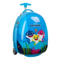 "Trolley infantil 16"" baby shark-SFI-612060848-Safta"