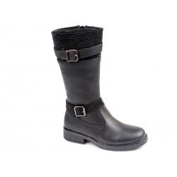 Botas altas niña-WEI-R516538325 BK-Weestep