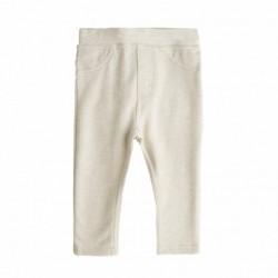 Pantalon felpa rizo