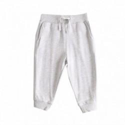 Pantalon deportivo felpa rizo color liso algodón 100%