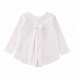 Camiseta chica con corona de lentejueras algodón 100%
